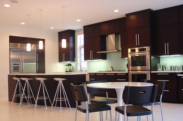 Dark Modern Kitchen dark modern - modern - kitchen - detroit