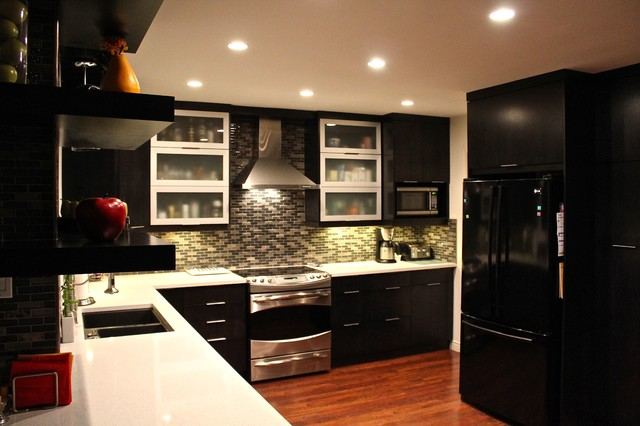 Dark Modern Kitchen dark modern kitchen