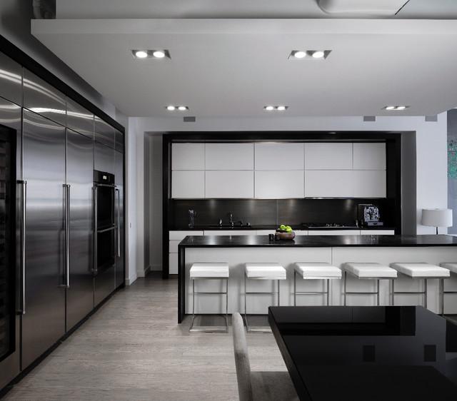 Http Www Houzz Com Photos 2762598 Dark Soapstone Countertop Schappacher White Modern Kitchen New York