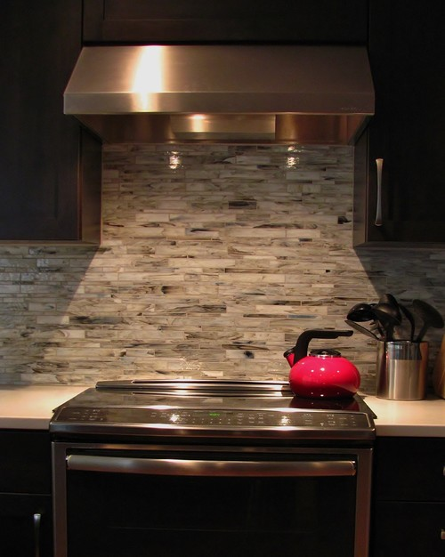 Merveilleux Slide In Stove With Quartz Countertops