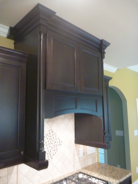 Dark Wood Beadboard Kitchen Warner Robins Ga