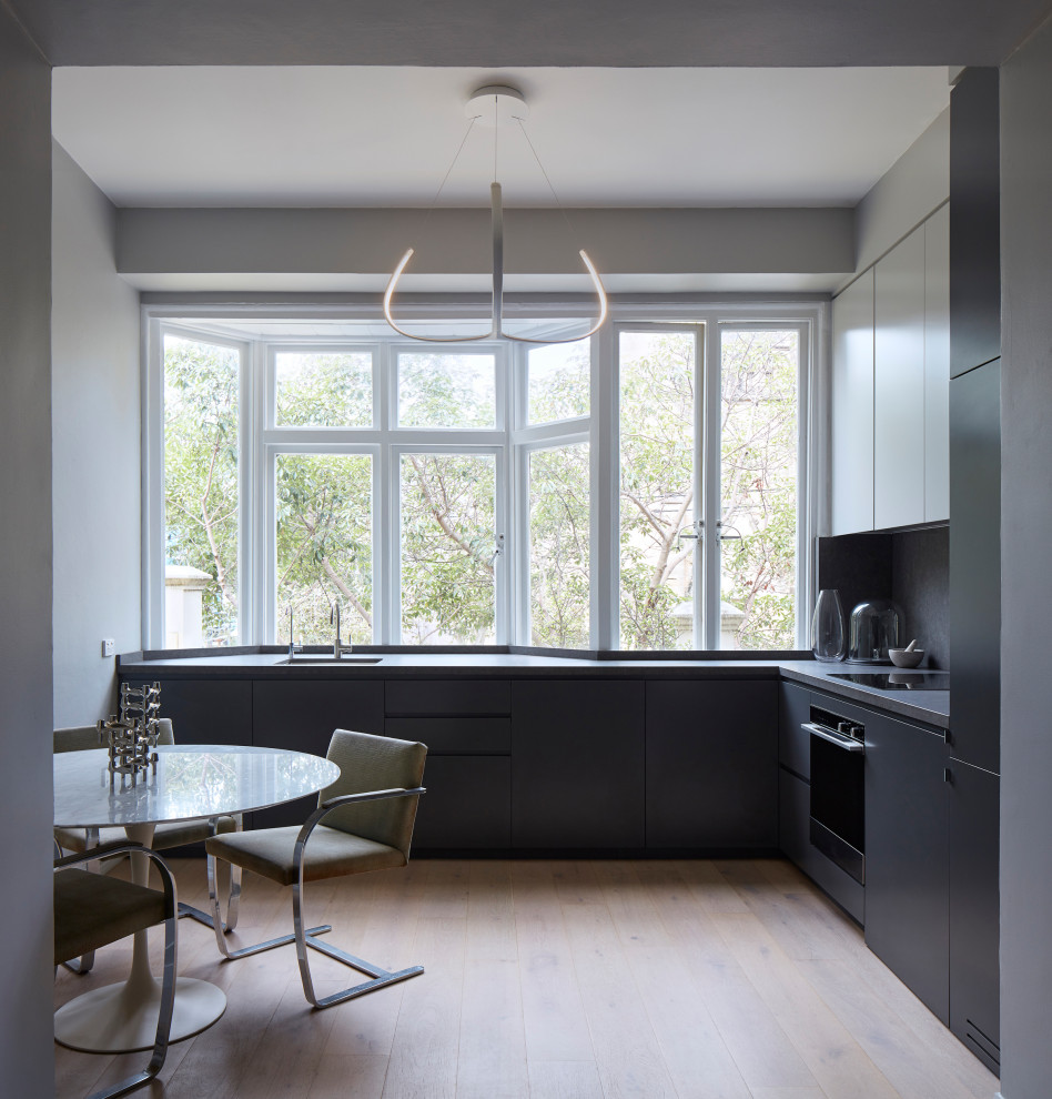 Photo of a contemporary kitchen in Sydney.