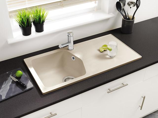 Rok Granite Sinks : Dart Sahara Beige 1.0B ROK? Granite Sink - Contemporary - Kitchen ...