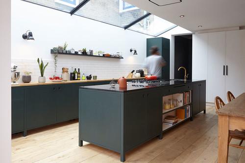 7 Ways To Pair Dark Kitchen Cabinets With A Dark Worktop