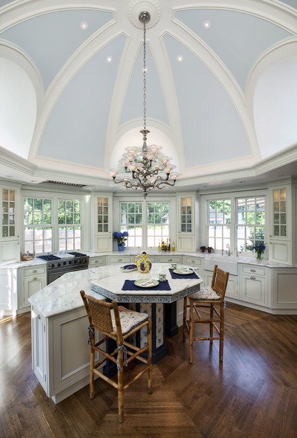 David Adler House Traditional Kitchen Chicago By