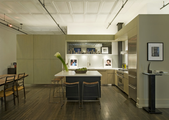 David Howell Design industrial-kitchen