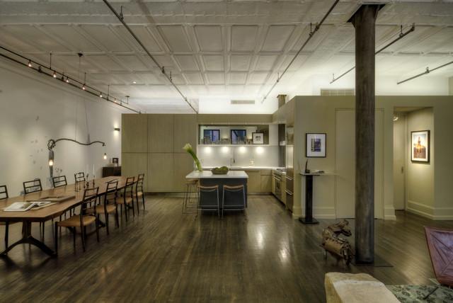 David Howell Design industrial-kitchen