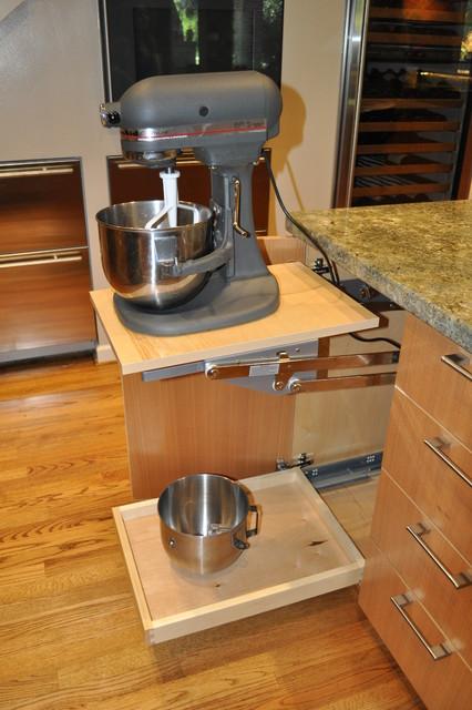 Davis Bistro Kitchen. Nar Fine Carpentry. Sacramento. El Dorado Hills contemporary-kitchen