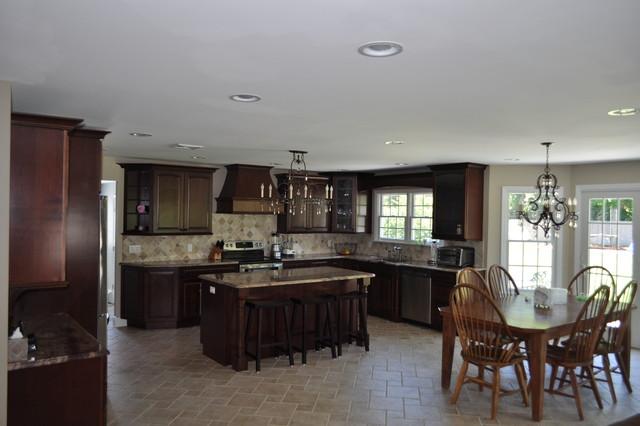 Davis kraftmaid kitchen traditional kitchen new york for Kitchen design nelson