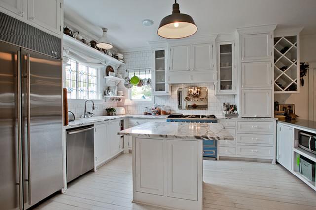 Davis St. kitchen eclectic-kitchen