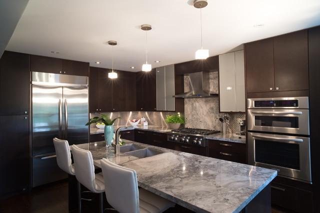 Davisville Village Modern Kitchen Contemporary Kitchen Toronto By Sacha Nizami Design