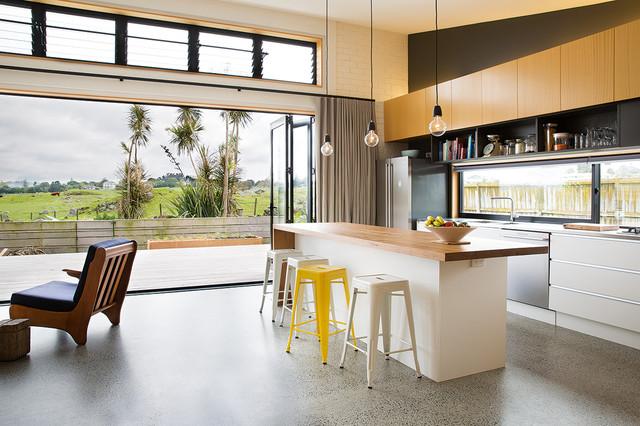 Davy House - Contemporáneo - Cocina - Auckland - de Architectural ...