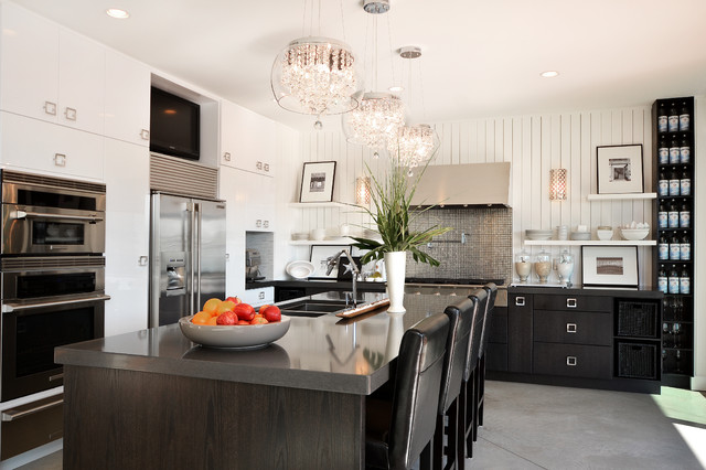 Dawna Jones Design contemporary-kitchen