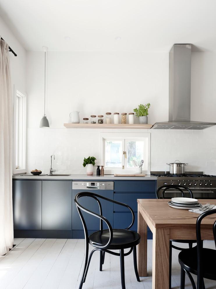 Inspiration för ett minimalistiskt kök