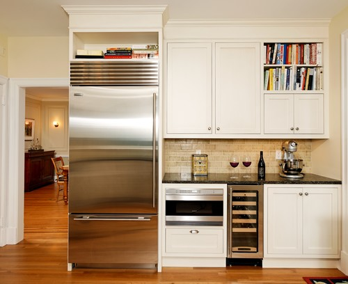 Finding Room For An Undercounter Wine Refrigerator Fridge Dimensions