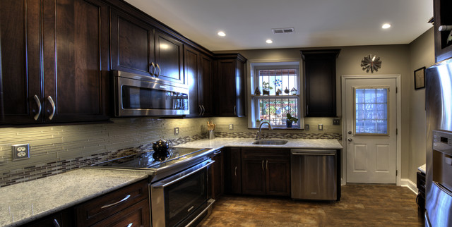 Dc Row Home Kitchen Sink Traditional Kitchen Dc Metro By Synergy Design Construction