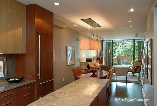DC townhouse renovation contemporary-kitchen