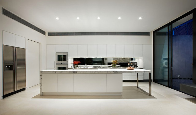 Ddb design 2012 kitchen design contemporary kitchen - Commercial kitchen design melbourne ...