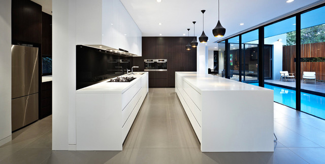 Ddb Design Exteriors Pools Contemporary Kitchen Melbourne By Ddb Design Development