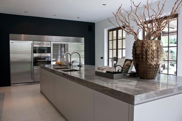 De appelboom Kapellen contemporary-kitchen