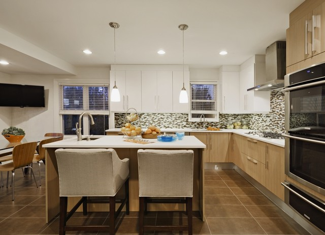 Deal nj beach house beach style kitchen new york for New york style kitchen design