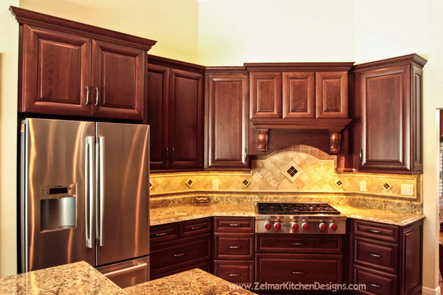 Deaton Home Remodel Traditional Kitchen Orlando By Zelmar Kitchen Designs More Llc