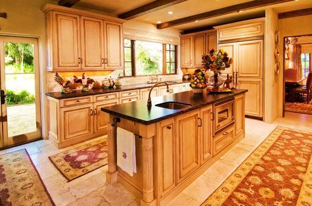 Debra Campbell Design rustic-kitchen