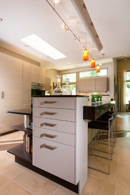 Decatur Residence Contemporary Kitchen Atlanta By