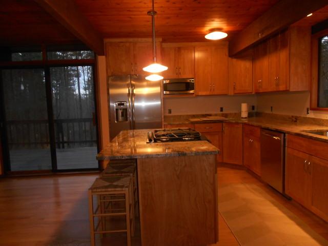 Deck House Kitchen contemporary-kitchen