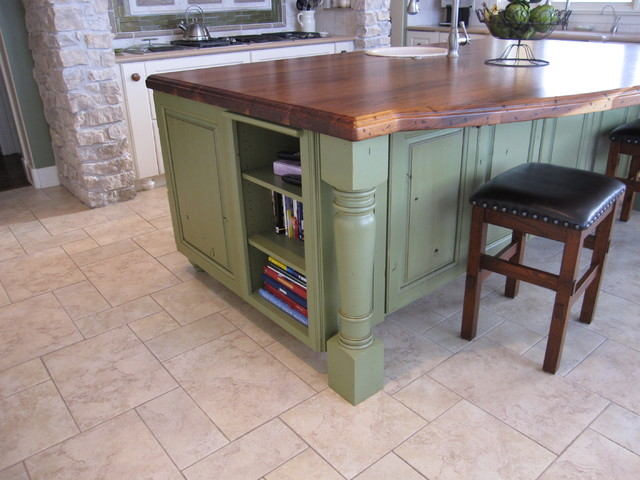 Decor Cabinetry and Corian traditional-kitchen