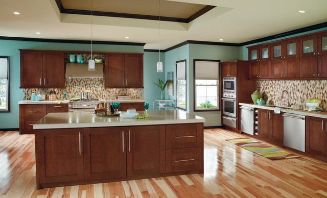 Decora Artisan Kitchen Cabinets - Modern - Kitchen - other metro - by MasterBrand Cabinets, Inc.