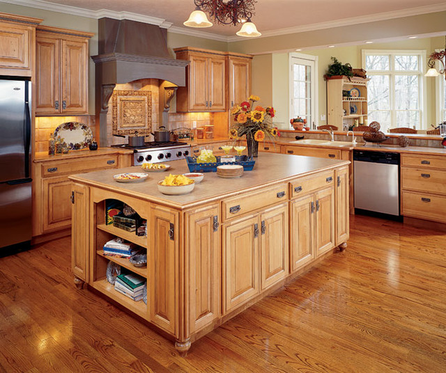Decora kitchen cabinets traditional kitchen chicago for Kitchen cabinets 75 off