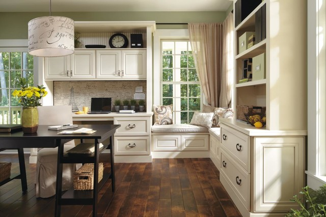 Decora Leyden Office Cabinets Traditional Kitchen Other By Masterbrand Cabinets Inc