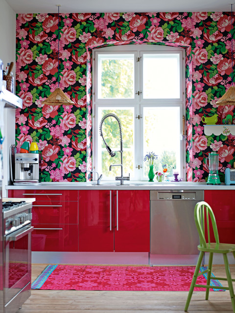 Decorate by Holly Becker and Joanna Copestick eclectic kitchen