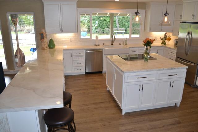 Stamped Concrete Kitchens : Decorative concrete modern kitchen sacramento by