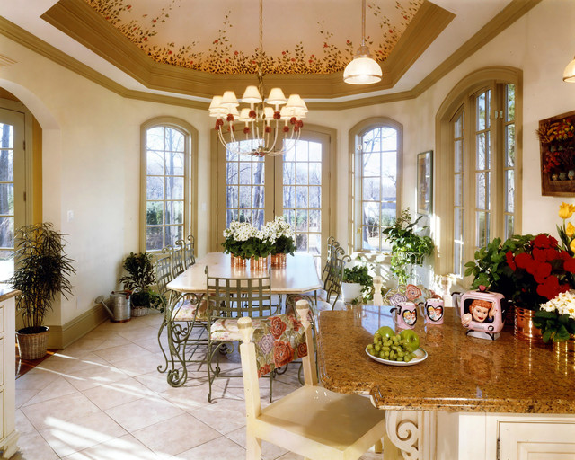 decorative kitchen ceiling traditional-kitchen
