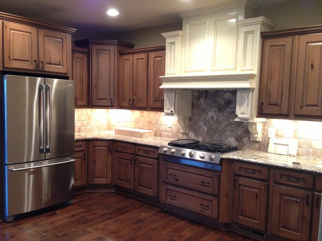 Decorative Kitchen Hoods - Kitchen - wichita - by Builder Preferred Cabinetry, Inc.