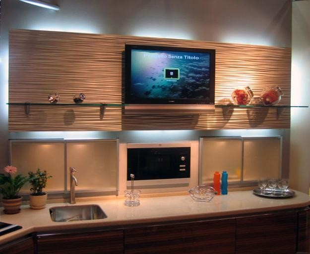Nice Decorative Wall Panels Modern Kitchen