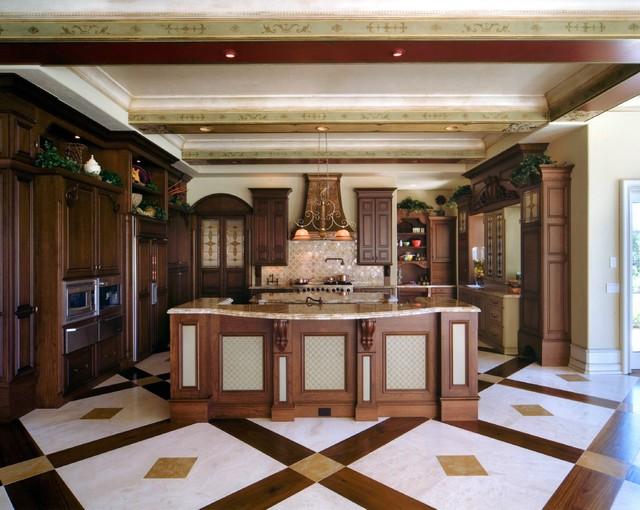 ... - Mediterranean - Kitchen - orlando - by Aztec Scenic Design Inc