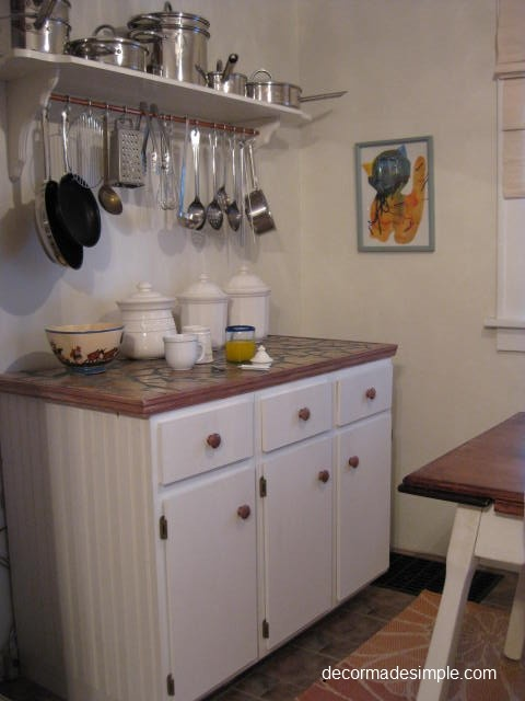 DecorMadeSimple eclectic-kitchen