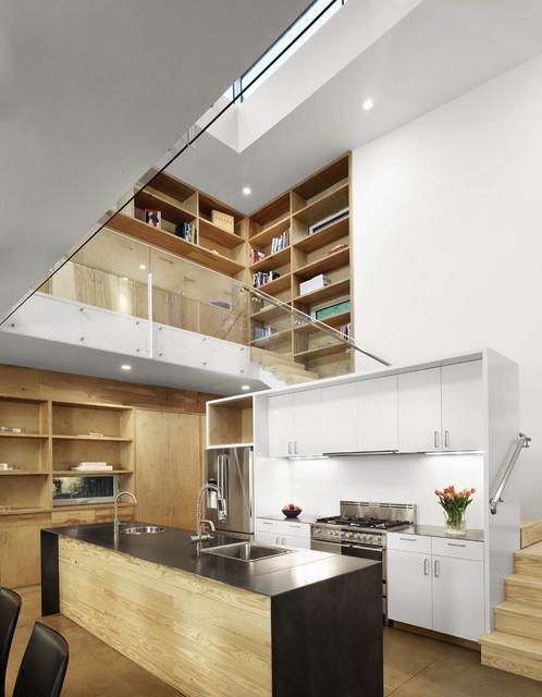 Deep Eddy Residence - Modern - Kitchen - Austin - by Baldridge Architects