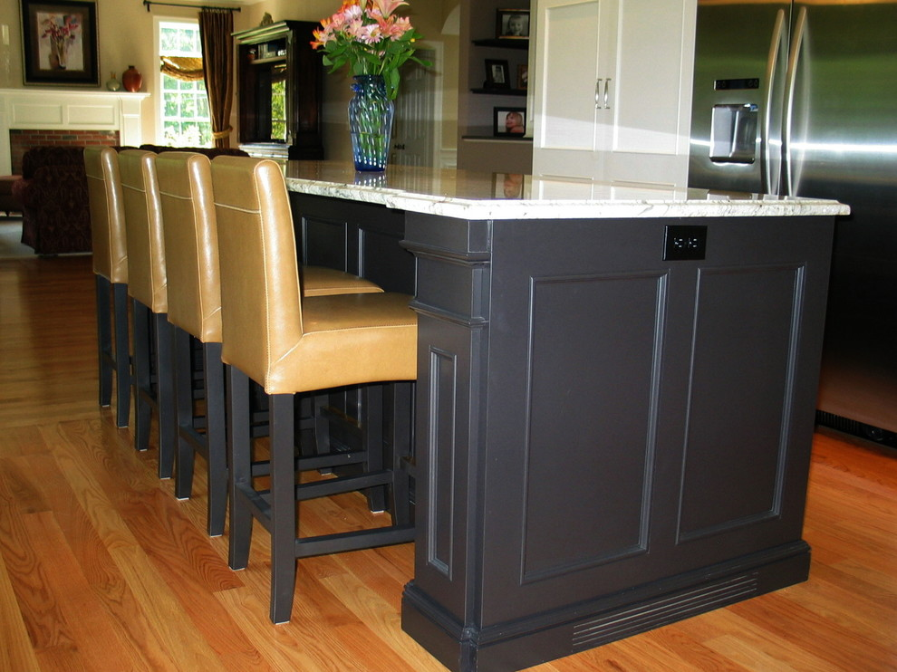 Deep Island Side Panels - Transitional - Kitchen - Other ...