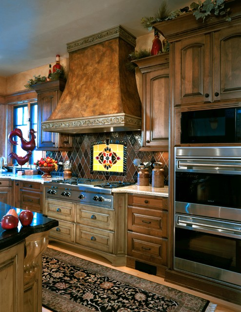 Deer Valley Mountian Home traditional-kitchen