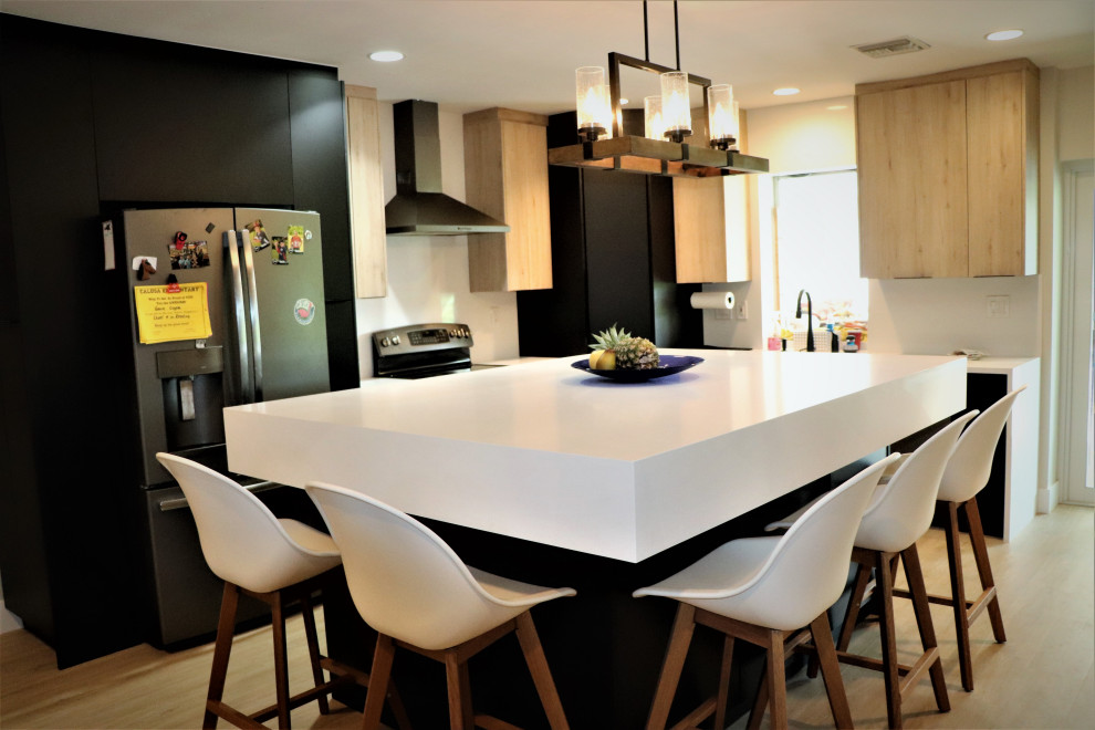 Deerfield Beach Kitchen Remodel - Contemporary - Kitchen ...