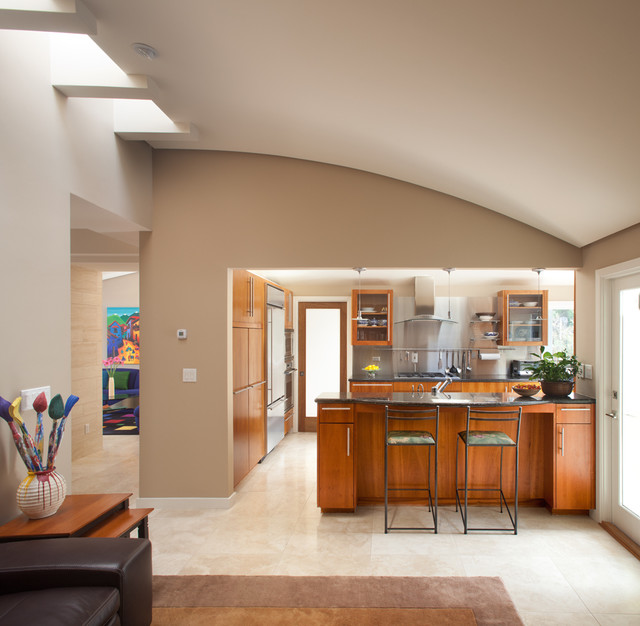 Best Dunn Edwards White Paint For Kitchen Cabinets: Del Mar Residence