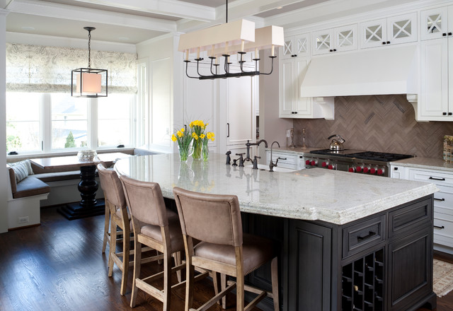 Del Ray Kitchen - Traditional - Kitchen - DC Metro - by Cahill Design Build