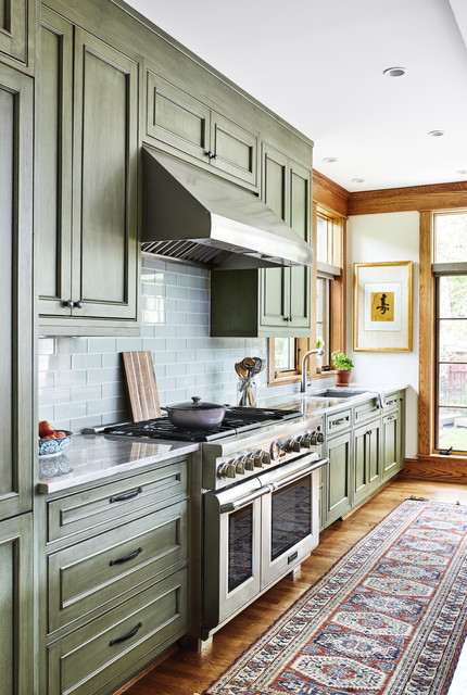 Del Ray Sears Bungalow - Craftsman - Kitchen - DC Metro - by ...