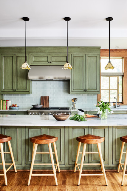Del Ray Sears Bungalow - Arts & Crafts - Kitchen - DC Metro ...