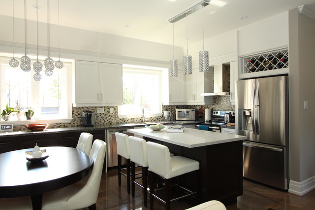 Del ria reno contemporary kitchen toronto by chic for Interior designs by ria