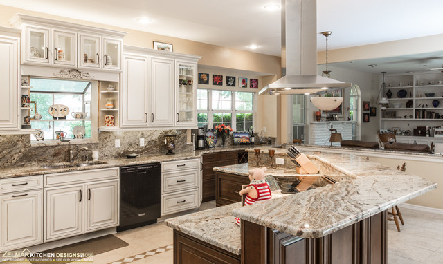 Del Villano Waypoint Zelmar Kitchen Remodel Traditional Kitchen Orlando By Zelmar